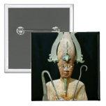 Statue of the Cult of Osiris 15 Cm Square Badge