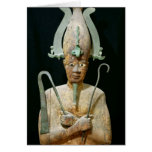 Statue of the Cult of Osiris Greeting Card