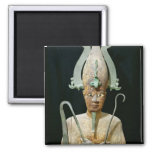 Statue of the Cult of Osiris Square Magnet