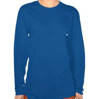Stay Strong ME/CFS Warrior Blue Awareness Ribbon Tshirt