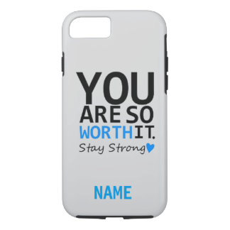 """""""Stay Strong"""" Monogram iPhone 7 CASE"""