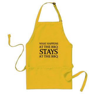 STAYS AT THE BBQ STANDARD APRON