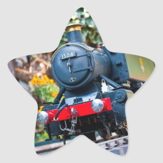 Steam Train star sticker