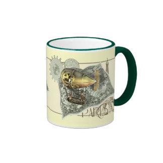 Steampunk Dirigible Air Tour Coffee Mugs