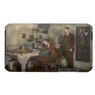 Steampunk - The wireless apparatus - 1905 Barely There iPod Cover