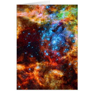Stellar Group, Tarantula Nebula outer space image Note Card