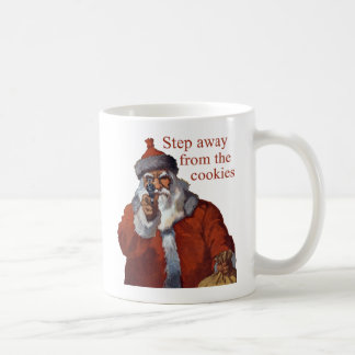 Step Away from the Cookies Basic White Mug