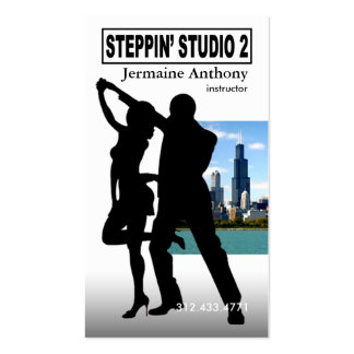 Steppin' Chicago Style Urban Dance Instructor Pack Of Standard Business Cards