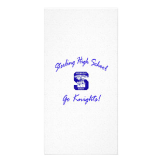 Sterling High Go Knights Logo I Photo Card