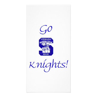 Sterling High Go Knights Logo II Photo Card