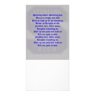 Sterling High School Alma Mater Photo Card