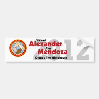 Stewart Alexander 2012 Bumper Sticker #2