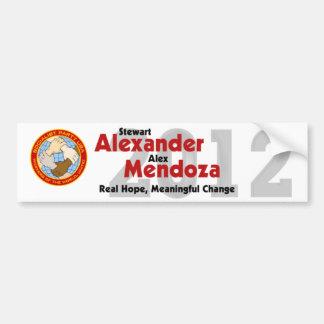 Stewart Alexander 2012 Bumper Sticker #4