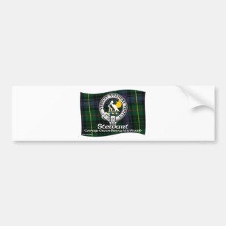 Stewart Clan Bumper Sticker