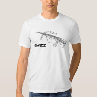 STEYR AUG 5.56mm ASSAULT RIFFLE Tshirts