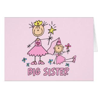 Stick Princess Duo Big Sister Note Card