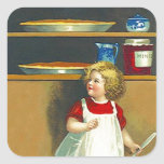 Sticker Vintage Holiday MinceMeat Pie Thanksgiving