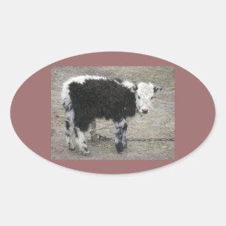 stickers animal baby yak