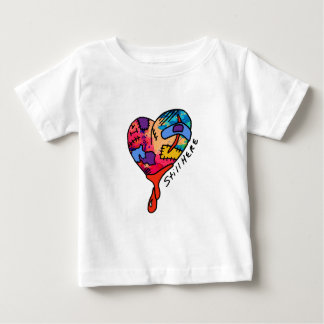 Still Here Patchwork Heart of Many Colors Tees