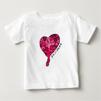 Still Here Pink Patchwork Heart Infant T-Shirt