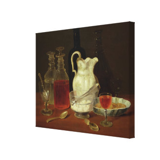 Still Life with Decanters Stretched Canvas Prints