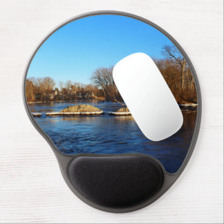 Stillwater River Late Winter 2016 Gel Mouse Pad