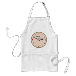 Stitch in time saves 9 - Apron (Rose)