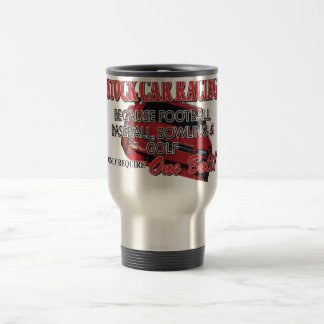 Stock Car Racing Stainless Steel Travel Mug
