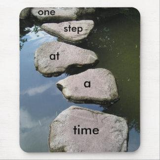 Stone bridge motivational mousepad