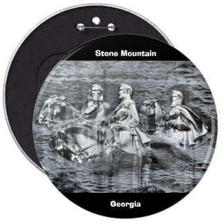 Stone Mountain, Georgia 6 Cm Round Badge