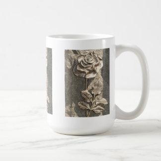 Stone Rose Basic White Mug