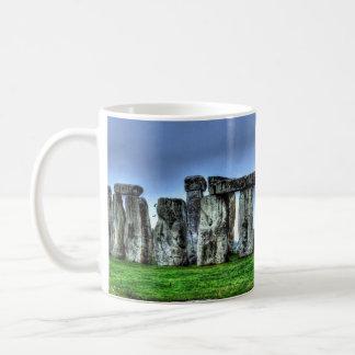 Stonehenge Celtic Standing Stones in Britain Basic White Mug