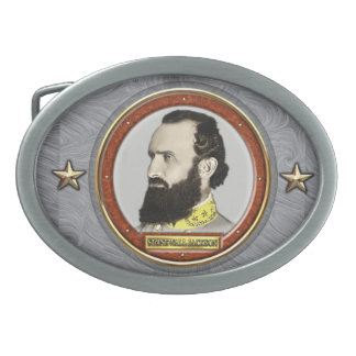 Stonewall Jackson Civil War Belt Buckle