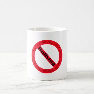 Stop Bullying-Logo by Shirley Taylor Basic White Mug