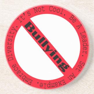 Stop Bullying-Logo by Shirley Taylor Beverage Coaster