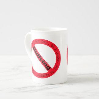 Stop Bullying-Logo by Shirley Taylor Bone China Mug