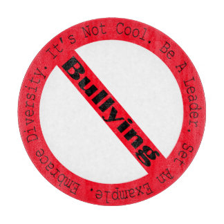 Stop Bullying-Logo by Shirley Taylor Cutting Board