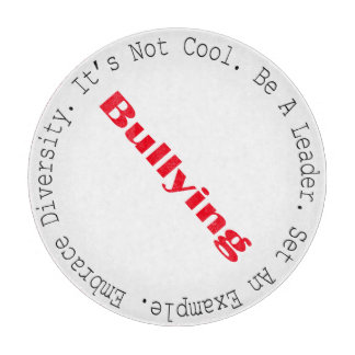 Stop Bullying-Outline Cutting Board