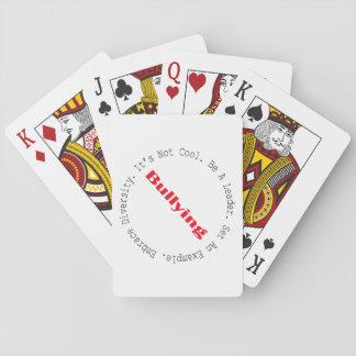 Stop Bullying-Outline Poker Deck