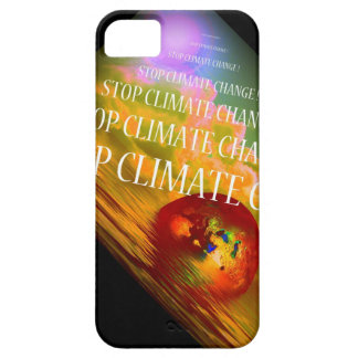 STOP CLIMATE CHANGE BARELY THERE iPhone 5 CASE