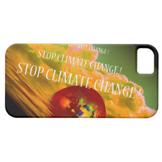 STOP CLIMATE CHANGE ! iPhone 5 COVERS