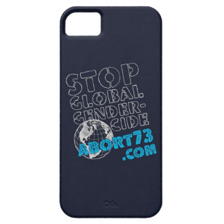 Stop Global Gendercide / Abort73.com Barely There iPhone 5 Case