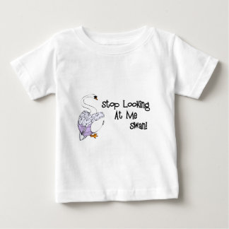 Stop Looking At Me Swan T-shirts