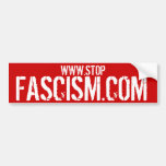 STOPFASCISM.COM - Stop Fascism Bumper Sticker