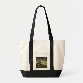 Storm at Sea Impulse Tote Bag