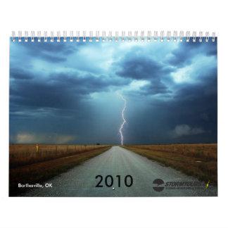 Storm Chasing 2010 Calendar