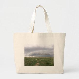 Storm Menace Jumbo Tote Bag