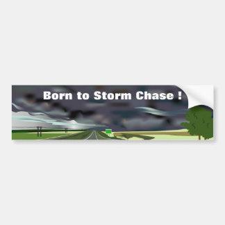 Storm on the Horizon Bumper Sticker