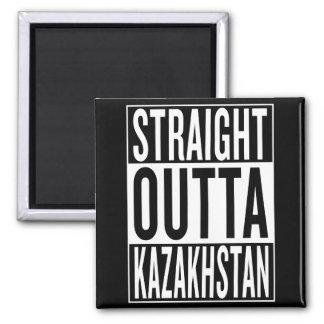 straight outta Kazakhstan Square Magnet