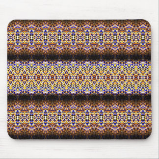 Strange and unusual pattern mouse pad